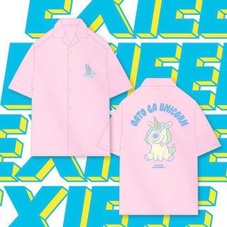 ウィゴー(WEGO)のEXIEEE ユニコーン5分袖BIGシャツ(お笑い芸人)