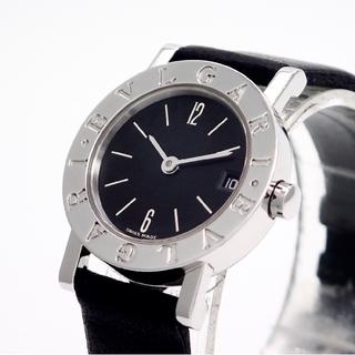 ブルガリ(BVLGARI)の【BVLGARI】ブルガリ腕時計 'BB23SLD' ブラック文字盤 ☆美品☆(腕時計)