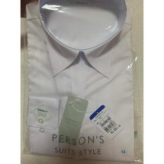アオヤマ(青山)のPERSON'S SUITS STYLE 長袖 スキッパーブラウス 洋服の青山(シャツ/ブラウス(長袖/七分))