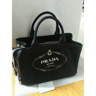 PRADA - PRADAカナパ Mサイズ