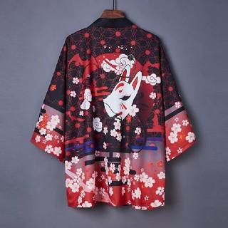 桜 法被 着物 浴衣 フリーサイズ(浴衣)