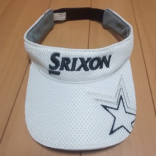 スリクソン(Srixon)のスリクソン ゴルフ サンバイザー キャップ 帽子(サンバイザー)