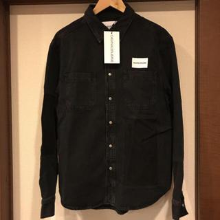 カルバンクライン(Calvin Klein)のCALVIN KLEIN DENIM SHIRT  日本未発売(Gジャン/デニムジャケット)