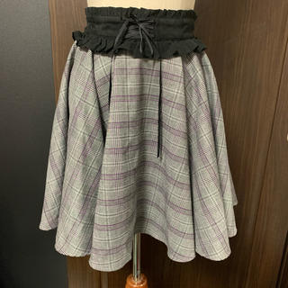 シークレットハニー(Secret Honey)のSecret Honey チェック柄スカート(ミニスカート)