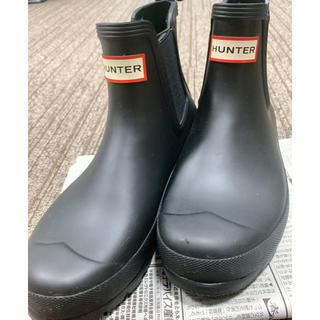 ハンター(HUNTER)の【値下げしました‼️】HUNTER ショートレインブーツ【箱なし】(レインブーツ/長靴)