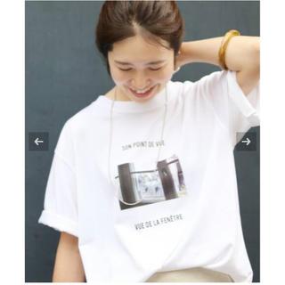 IENA - IENA Bonne Vie フォト Tシャツ
