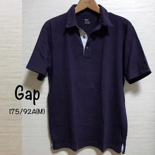 GAP - ≡ Gap ≡ Men's パープル半袖ポロシャツ ≡ M ≡