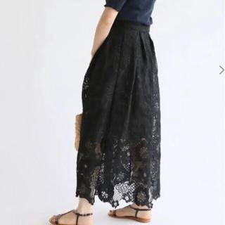 IENA - 【IENA】LUANA レース巻きスカート フリーサイズ