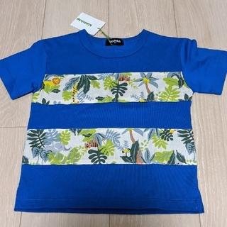 クレードスコープ(kladskap)の7/5まで☆新品タグ付☆アニマル  kladskap Tシャツ 100(Tシャツ/カットソー)
