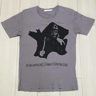 ジィヒステリックトリプルエックス(Thee Hysteric XXX)のヒステリックグラマー XXX Tシャツ パープル Sサイズ(Tシャツ/カットソー(半袖/袖なし))