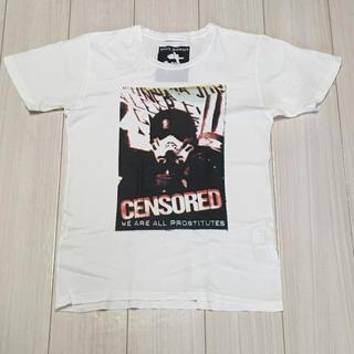 ジィヒステリックトリプルエックス(Thee Hysteric XXX)のヒステリックグラマー XXX  Mark Stewart Tシャツ Sサイズ(Tシャツ/カットソー(半袖/袖なし))