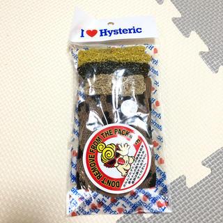 ヒステリックミニ(HYSTERIC MINI)のヒスミニ HYSTERIC MINI ハイソックス レオパード ヒョウ柄 (靴下/タイツ)