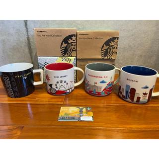 スターバックスコーヒー(Starbucks Coffee)のスターバックス マグカップ ニューヨーク ボストン ニュージャージー ワシントン(マグカップ)
