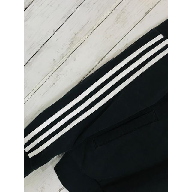 adidas(アディダス)の万能光沢美。超限定最強映えラインパーカー韓国adidasOriginals Y3 メンズのトップス(パーカー)の商品写真