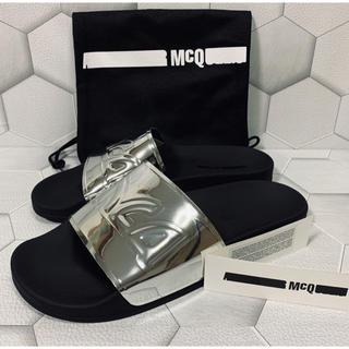 アレキサンダーマックイーン(Alexander McQueen)のMCQ ALEXANDER MCQUEEN  men's  ロゴサンダル 26(サンダル)