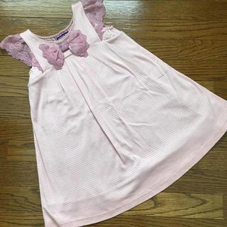 ANNA SUI mini - (110㎝)■アナスイ/ANNASUImini■ピンクレースワンピース