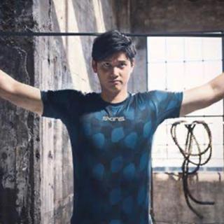 スキンズ(SKINS)のスキンズ 大谷翔平 皇治 Tシャツ スポーツ トレーニング シャツ ウェア(Tシャツ/カットソー(半袖/袖なし))