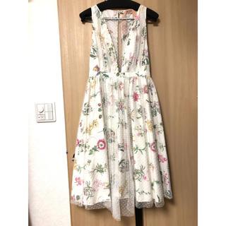 VALENTINO - 美品!N°21 フローラル柄ドレス IT40サイズ