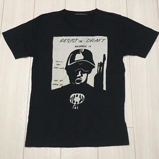 ジィヒステリックトリプルエックス(Thee Hysteric XXX)のヒステリックグラマー XXX RESIST Tシャツ ブラック Sサイズ(Tシャツ/カットソー(半袖/袖なし))