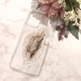 """トゥデイフル(TODAYFUL)のbuuun様専用🌷【""""O""""case.】ニュアンス iPhoneケース m-14(iPhoneケース)"""