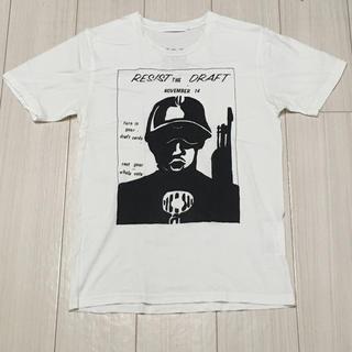 ジィヒステリックトリプルエックス(Thee Hysteric XXX)のヒステリックグラマー XXX RESIST Tシャツ ホワイト Sサイズ(Tシャツ/カットソー(半袖/袖なし))
