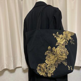 ヨウジヤマモト(Yohji Yamamoto)の【激レア】Y's ワイズ ヨウジヤマモト トートバッグ 「尾花」プリント(トートバッグ)