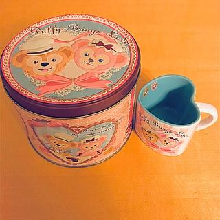 ダッフィー - ディズニーシー ダッフィー シェリーメイ カップ 空き缶付き