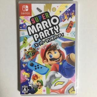 ニンテンドースイッチ(Nintendo Switch)の新品未開封 24時間以内発送 スーパーマリオパーティ スイッチ(家庭用ゲームソフト)