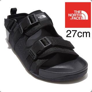 THE NORTH FACE - 新品未使用品‼️ノースフェイス サンダル 27cm 海外モデル日本未発売ブラック