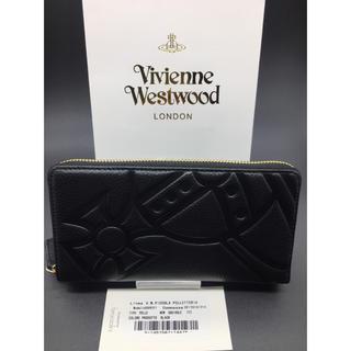 ヴィヴィアンウエストウッド(Vivienne Westwood)の大人気! ヴィヴィアンウエストウッド 長財布 黒 新品 ブラック クロム BL(長財布)