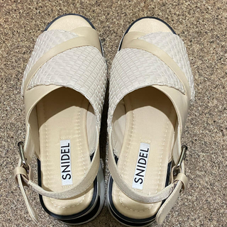 スナイデル(snidel)の[売り切り]snidel 2020スニーカーソールサンダル(サンダル)