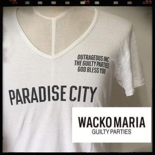 WACKO MARIA - ワコマリア Tシャツ ホワイト Lサイズ ザギルティパーティーズ