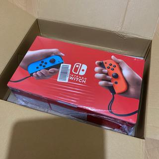 ニンテンドースイッチ(Nintendo Switch)の新品未開封 Nintendo Switch (家庭用ゲーム機本体)