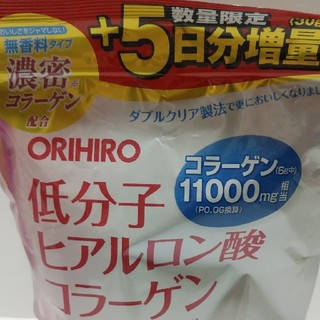 ORIHIRO - ORIHIRO ヒアルロン酸濃厚コラーゲン 210g増量