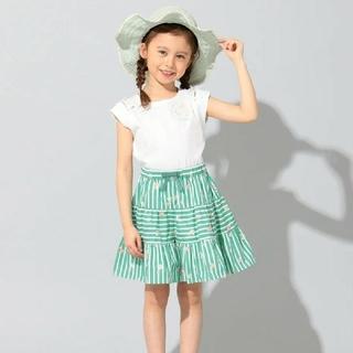 トッカ(TOCCA)の新品 完売品 トッカバンビーニ 半袖Tシャツ キュロット セット 130cm(Tシャツ/カットソー)