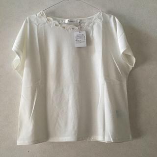 クチュールブローチ(Couture Brooch)のクチュールブローチ 新品 Tシャツ カットソー テチチ ロペピクニック 好きにも(カットソー(半袖/袖なし))