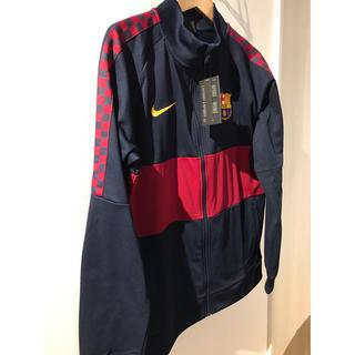 NIKE - 新品!FCバルセロナ 18-19 I96 ジャケット(ネイビー)(NIKE
