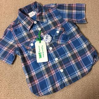 Lee - 新品(110㎝)■リー/LEE/Lee■チェック半袖シャツ