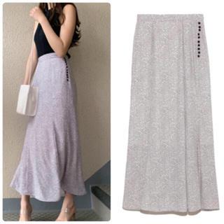 snidel - 完売色🌷新品🍀スナイデル リバティプリントバックフレアスカート