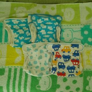 ニシキベビー(Nishiki Baby)のおむつカバーセット(布おむつ)