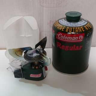 コールマン(Coleman)のOD缶付❗コールマン アウトランダー マイクロストーブPZ(ストーブ/コンロ)