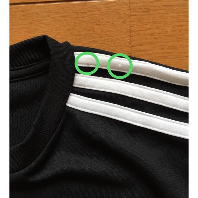 adidas(アディダス)のadidas Tシャツ 160cm ボーイズ ブラック✖︎オレンジ アディダス スポーツ/アウトドアのサッカー/フットサル(ウェア)の商品写真