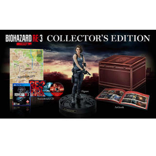 PlayStation4 - BIOHAZARD RE3 Z Version COLLECTORS ps4