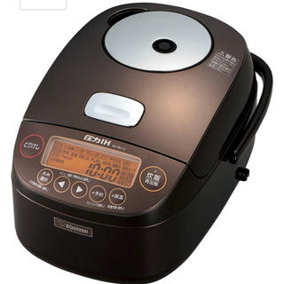 ゾウジルシ(象印)の象印 炊飯器 圧力IH式 5.5合 極め炊き 鉄器NP-BH10-TA(炊飯器)
