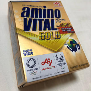 アジノモト(味の素)のアミノバイタル ゴールド 14本入り(アミノ酸)