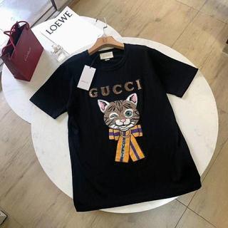 グッチ(Gucci)の新品 GUCCI 可愛いTシャツ レディース(Tシャツ(半袖/袖なし))