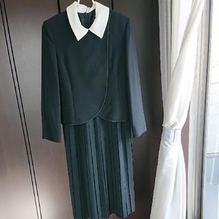 ソワール(SOIR)の礼服  ワンピース&上着 13号(礼服/喪服)