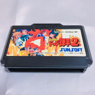 ファミリーコンピュータ(ファミリーコンピュータ)のファミコン ソフト ドッジ弾平2(家庭用ゲームソフト)