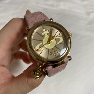 ヴィヴィアンウエストウッド(Vivienne Westwood)のVivienneWestwood ピンク 時計(腕時計)