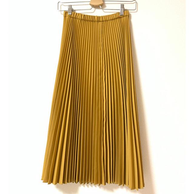 Adam et Rope'(アダムエロぺ)のプリーツスカート レディースのスカート(ロングスカート)の商品写真
